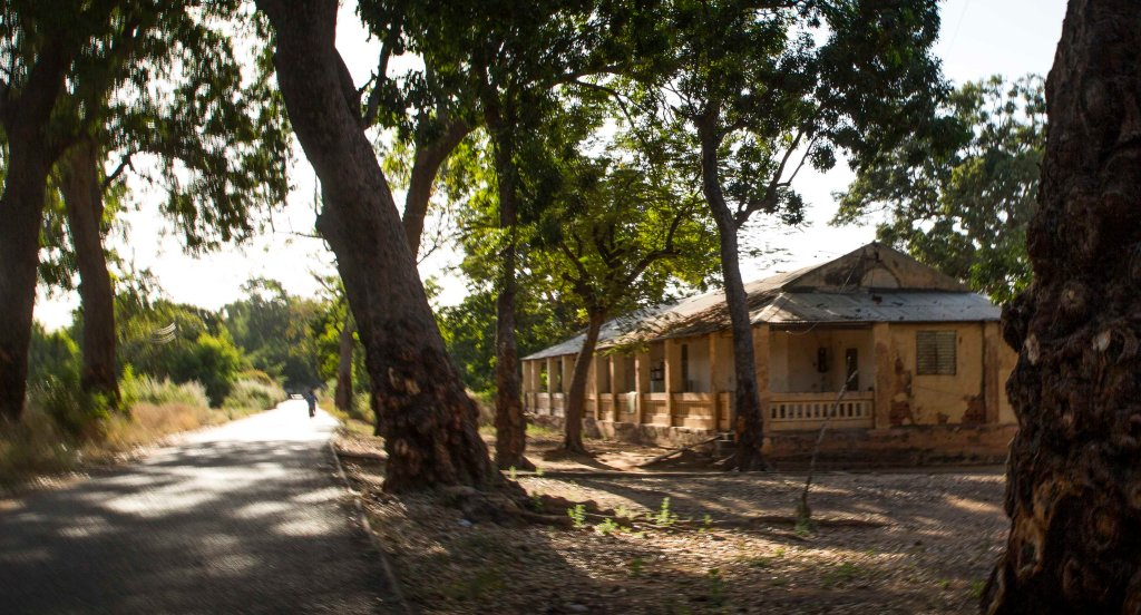 Old colonial house in Segou
