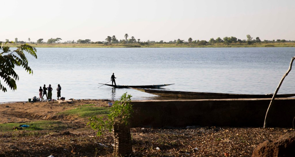 Floating down the Niger river