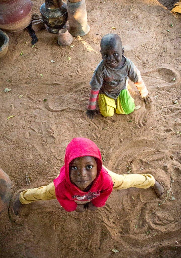 Cool kids in Segou market