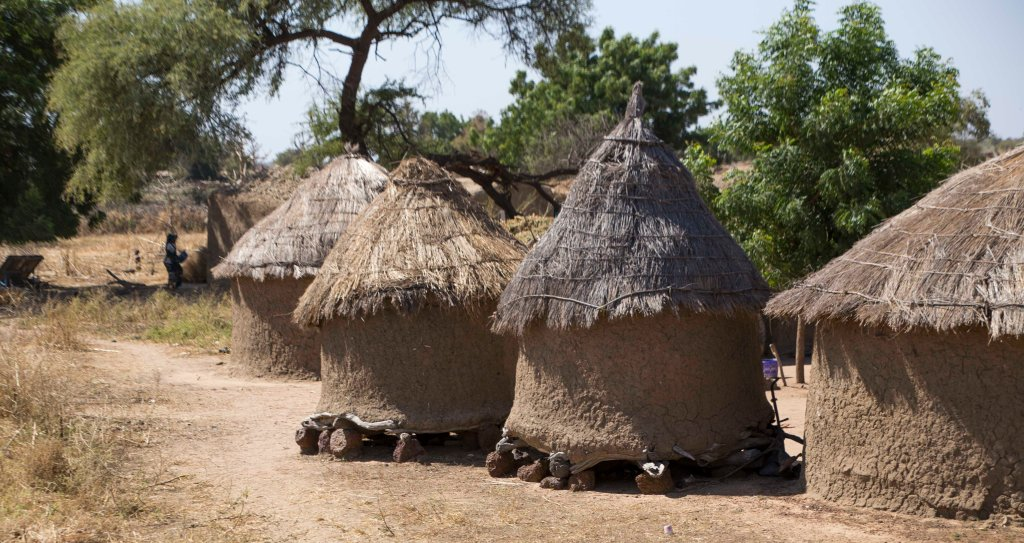 Malian grain stores