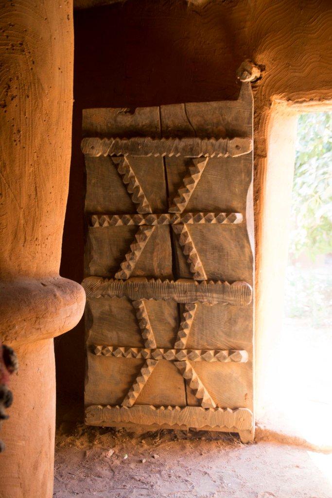 Old door - Segou Koro