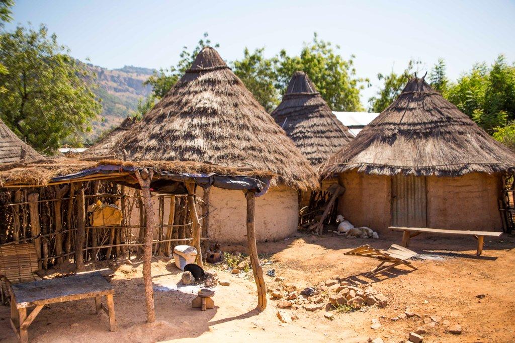 Village scene - western Mali
