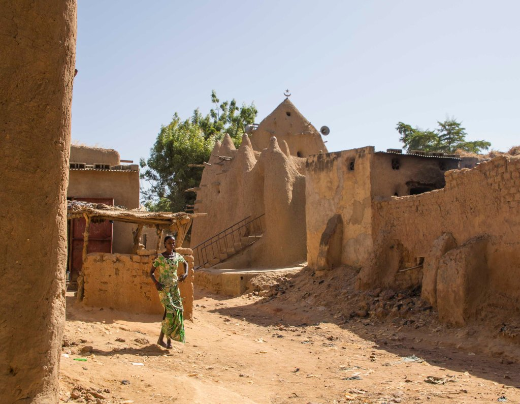 Old mosque in Segou-Koro