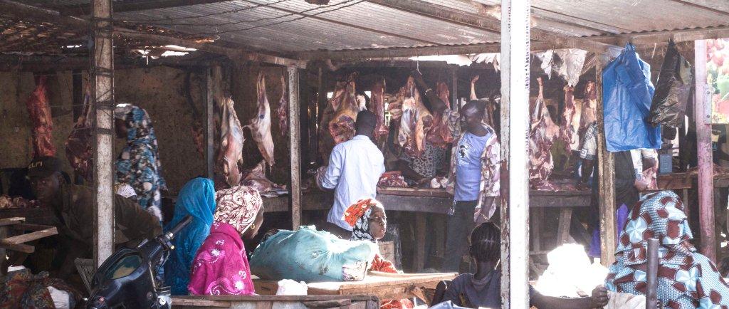 Market butchery