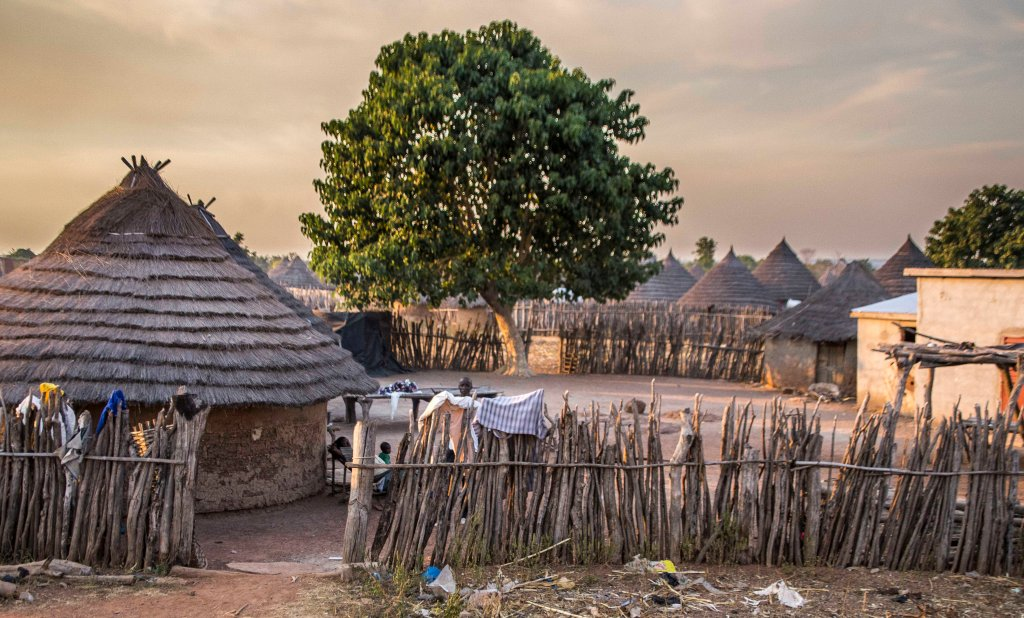 Senegalese village