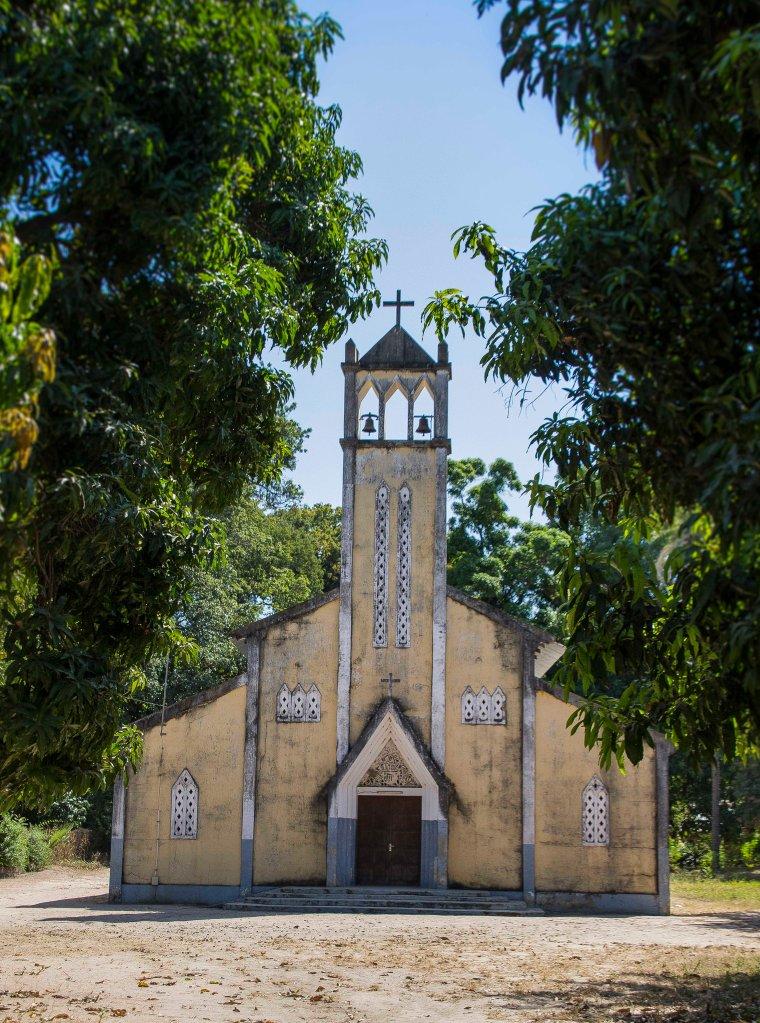 Catholic church in the Casamance