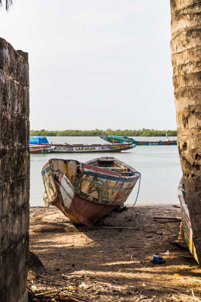 Fishing boat on the Casamance