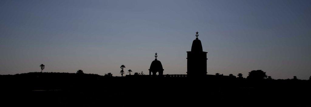 Mosque siloheutte
