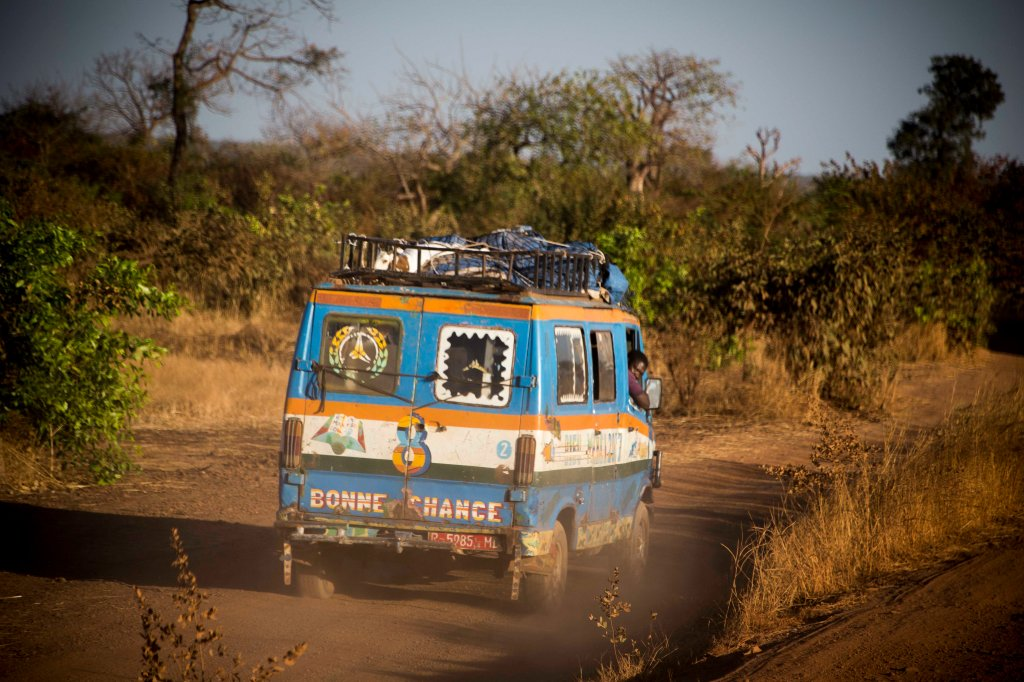 Good luck (bonne chance) needed on some Malian roads