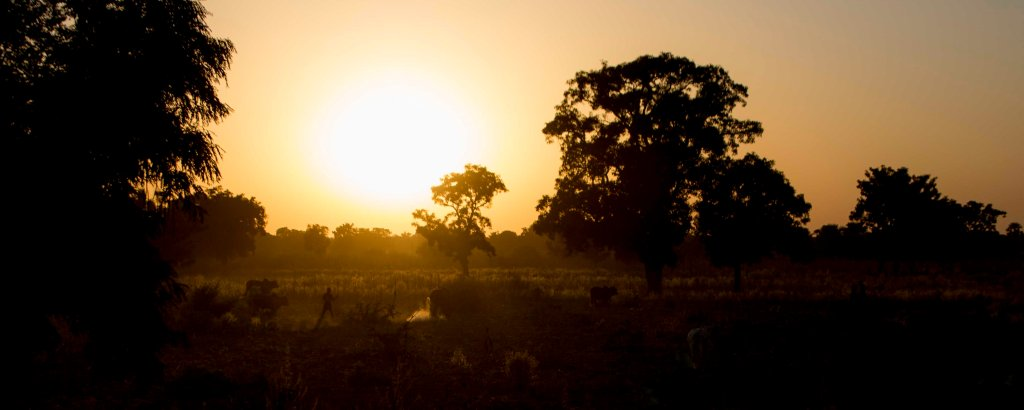 Malian sunset