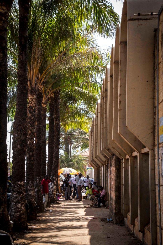 Disused financial institution - Bissau