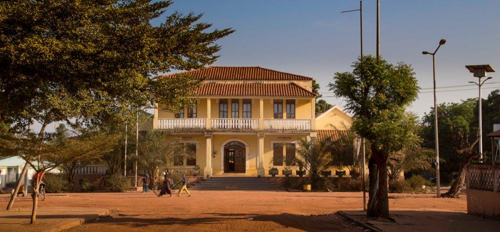Colonial house in Gabu
